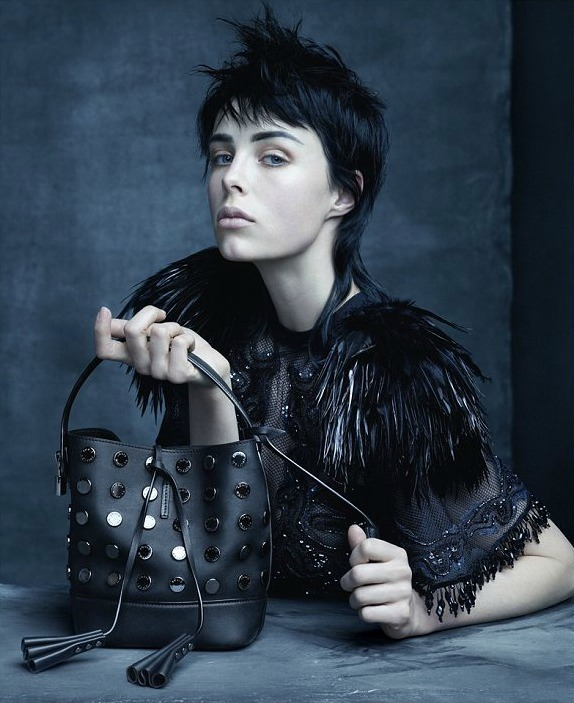 Edie Campbell Vuiton