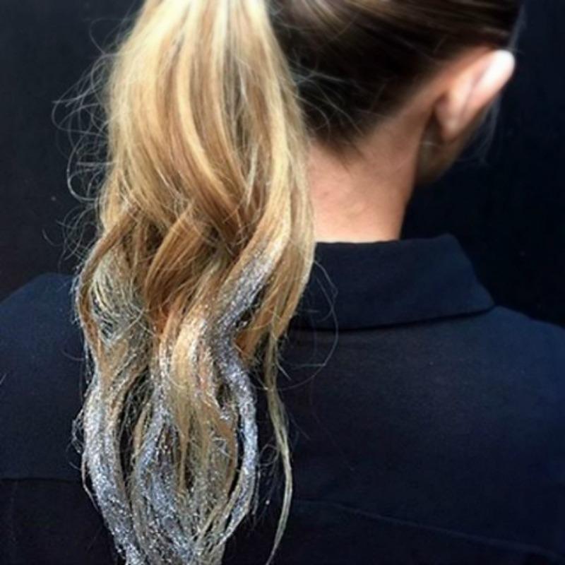 ponytail glitter