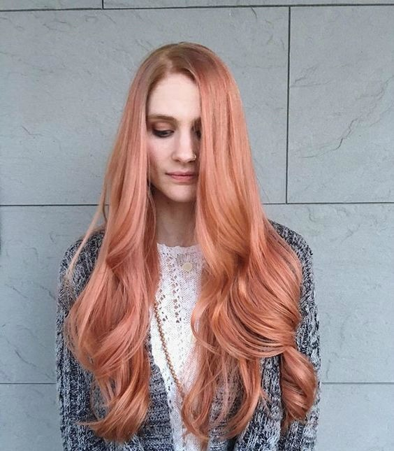 Long hair blorange