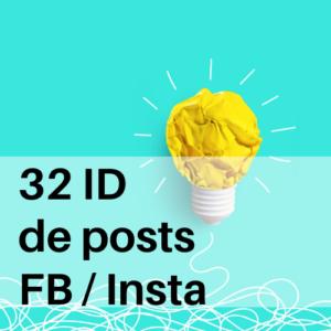 32 idées de posts Facebook Instagram coiffeur