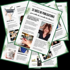 32 idées de publications pour les réseaux sociaux coiffeurs
